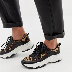ASOS Shoes - Cheetah Print Chunky Sneakers